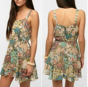 Lucca Couture Floral Mini Sundress